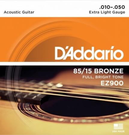 D'Addario EZ900 AMERICAN BRONZE 85/15