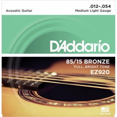 D'Addario EZ920 AMERICAN BRONZE 85/15