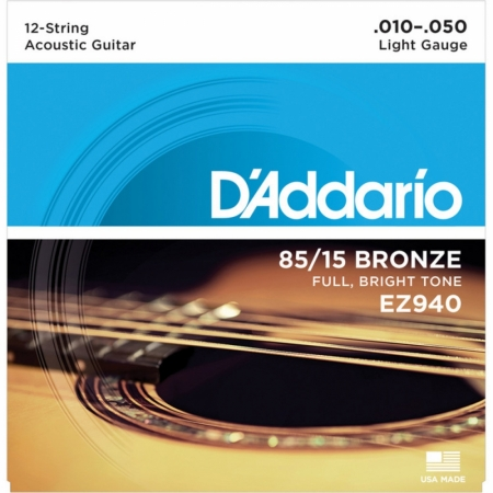 D'Addario EZ940 AMERICAN BRONZE 85/15