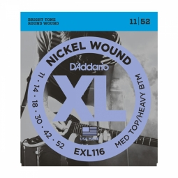 D`ADDARIO EXL116 XL Meduim Top/Heavy Bottom