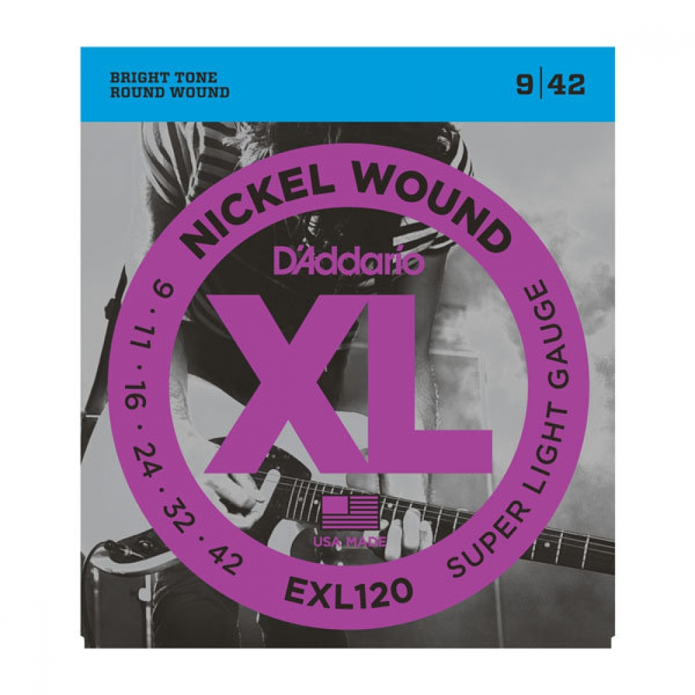 D`ADDARIO EXL120 SUPER LIGHT