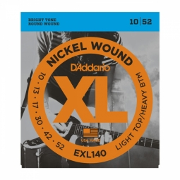 D`ADDARIO EXL140 LIGHT TOP/HEAVY BOTTOM