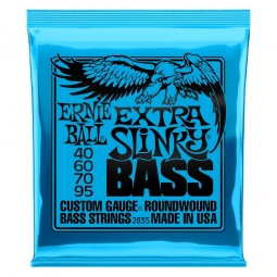 Ernie Ball 2835 Nickel Wound Bass Extra Slinky