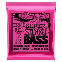 Ernie Ball 2834 Nickel Wound Bass Super Slinky