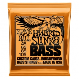Ernie Ball 2833 Nickel Wound Bass Hybrid Slinky
