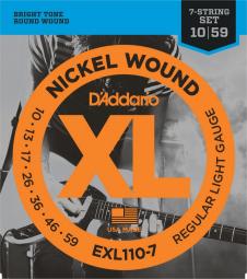 D`ADDARIO EXL110-7 10/59