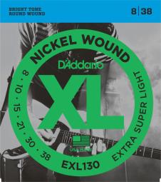 D`ADDARIO EXL130 8/38