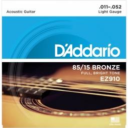 D'Addario EZ910 AMERICAN BRONZE 85/15